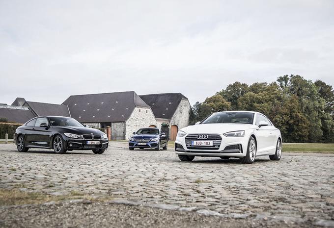 Audi A5 Coupé face à 2 rivales #1