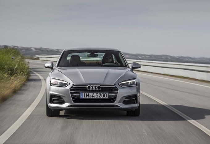 Audi A5 Coupé 2.0 TFSI 252 : Sportief… op papier #1