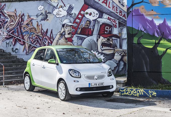 Smart Forfour Electric Drive : Koning  van de stad #1