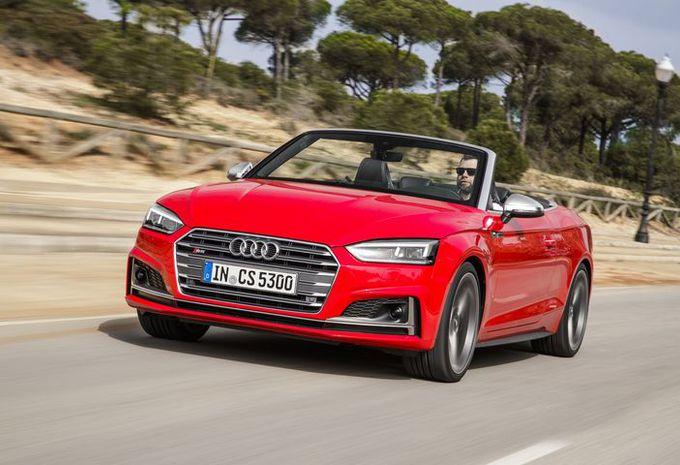 Audi A5 & S5 Cabriolet : à nouveau au complet #1