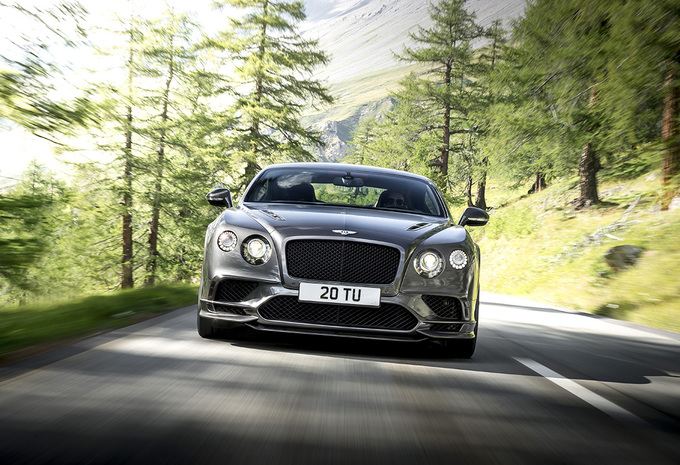 Bentley Continental Supersports : Artillerie lourde #1