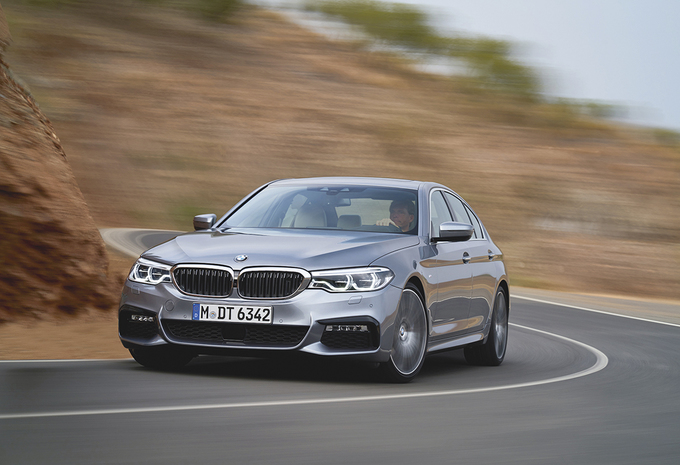 BMW 540i xDrive : Puissante #1