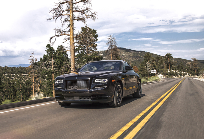 Rolls-Royce Ghost Black Badge : Back in black #1