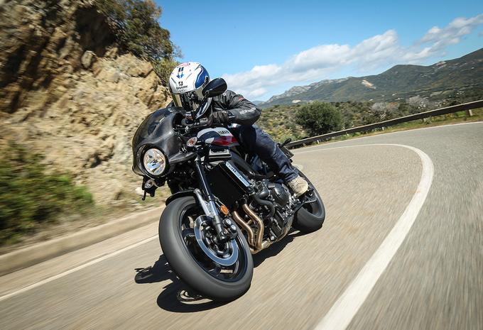 Yamaha XSR900 Abarth (2017) – motortest #1