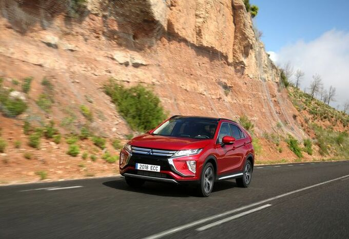 Mitsubishi Eclipse Cross : point d'inflexion #1