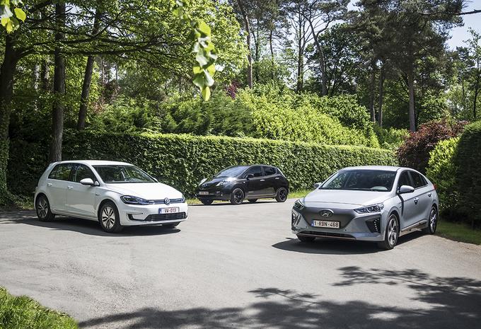 ELECTRIQUES – Hyundai Ioniq vs Nissan Leaf vs Volkswagen Golf : Pour aller loin, il n'y a pas que les kilowattheures #1