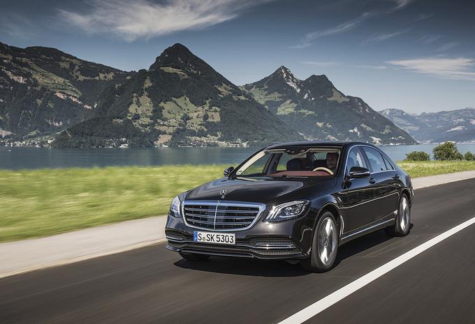 Mercedes S-Klasse : Wie is er de baas? #1