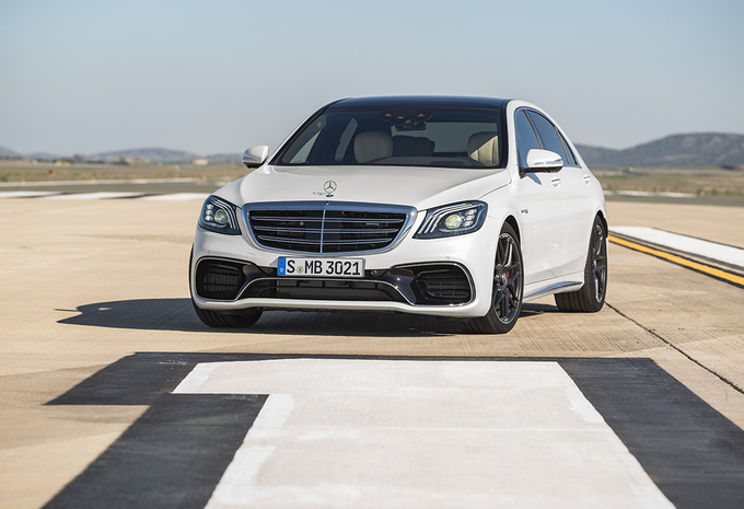 Mercedes-AMG S 63 : Downsizing (en quelque sorte…) #1