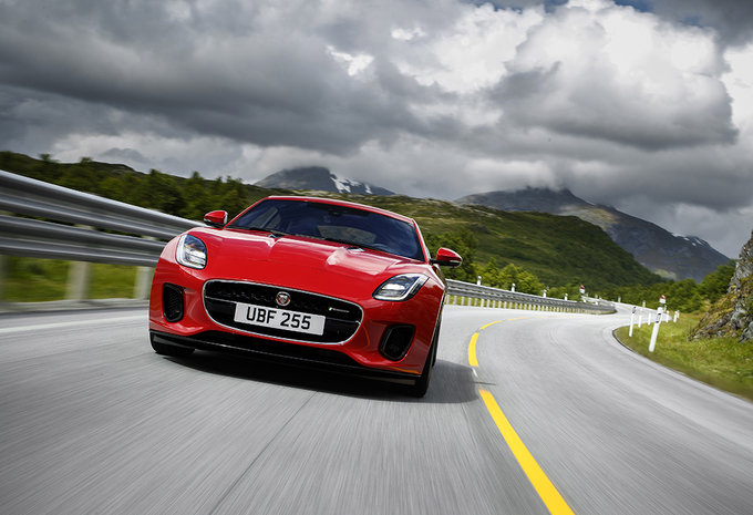 Jaguar F-Type 2.0T i4 Coupé (2017) #1