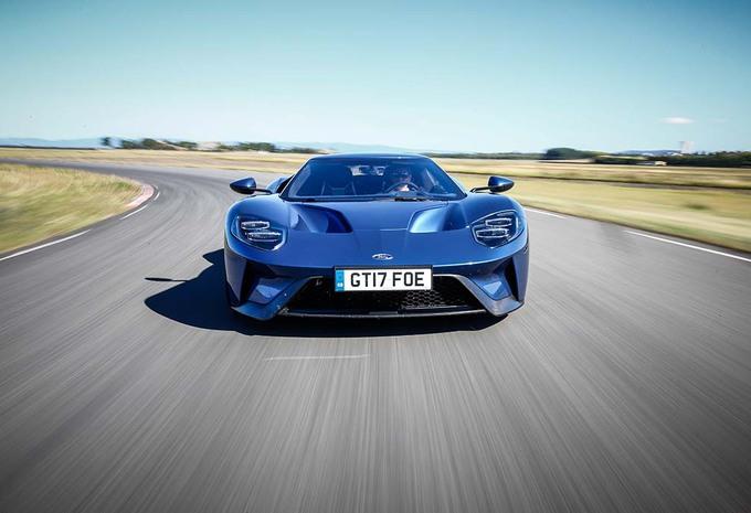 Ford Gt Klaar Voor Le Mans