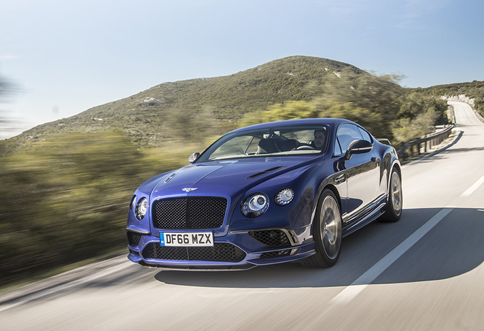 Bentley Continental GT Supersports (2017) #1
