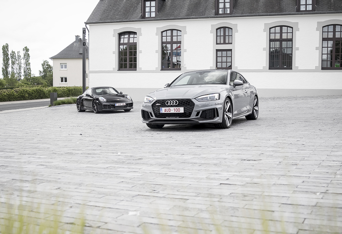 Audi RS5 vs Porsche 911 Carrera GTS : Le grand écart #1