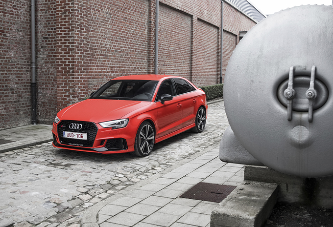 Audi RS3 Berline : méchante #1