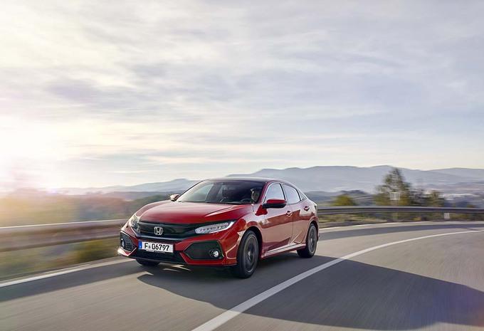 Honda Civic 1.0: Klein maar sterk hart #1