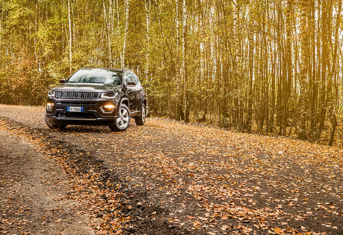 JEEP COMPASS 1.6 MULTIJET : Wereldreiziger #1