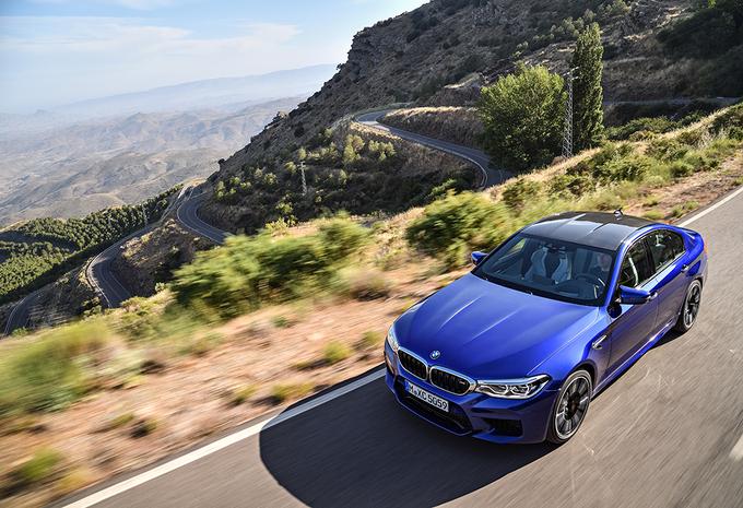 BMW M5 (2017) #1