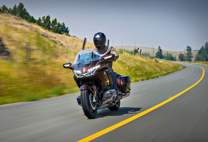 Honda GL1800 Gold Wing (2018) - motortest #1
