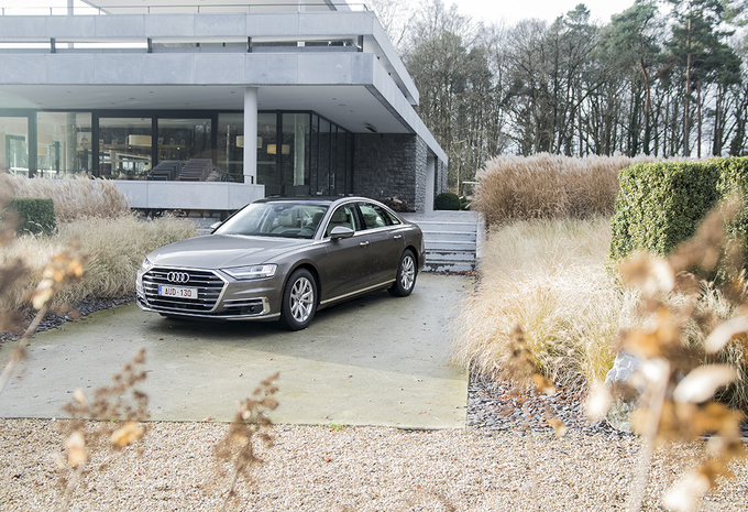 Audi A8 50 TDI quattro : retour au sommet #1