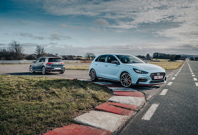 Hyundai i30 N Performance // VW Golf GTI PeRformance: Rocky #1