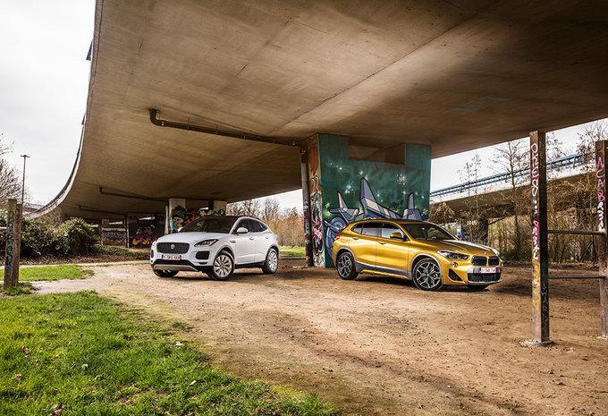 BMW X2 xDRIVE20d // JAGUAR E-PACE D180 : Koortsaanval #1