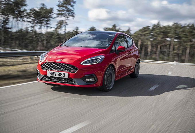 Ford Fiesta ST 2018: geamputeerd maar niet mank #1