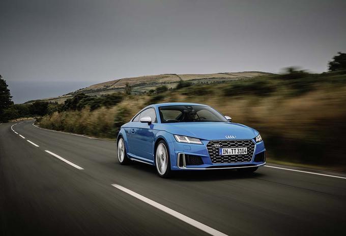 Audi TT et TTS : mise à jour et retouches #1