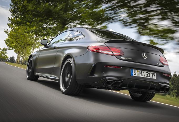 Mercedes-AMG C63 S Coupé (2018) #1