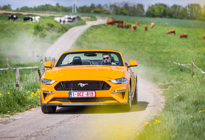 Ford Mustang GT Convertible A : balade américaine #1