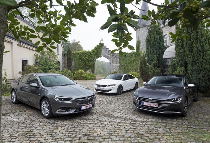 Peugeot 508 vs 2 rivales #1