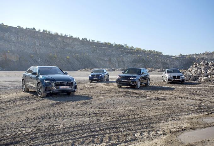 Audi Q8 vs 3 rivales #1