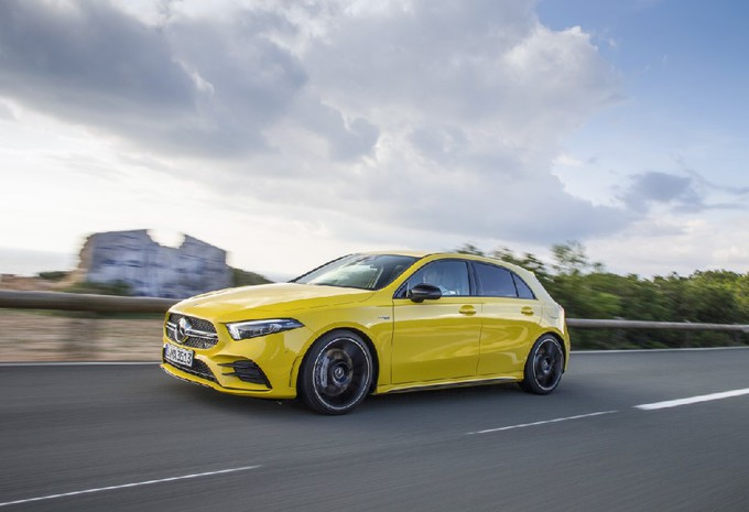 Test Mercedes AMG A 35 4MATIC (2018) AutoWereld