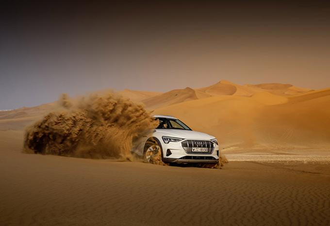 Audi e-tron : La verte Forest #1
