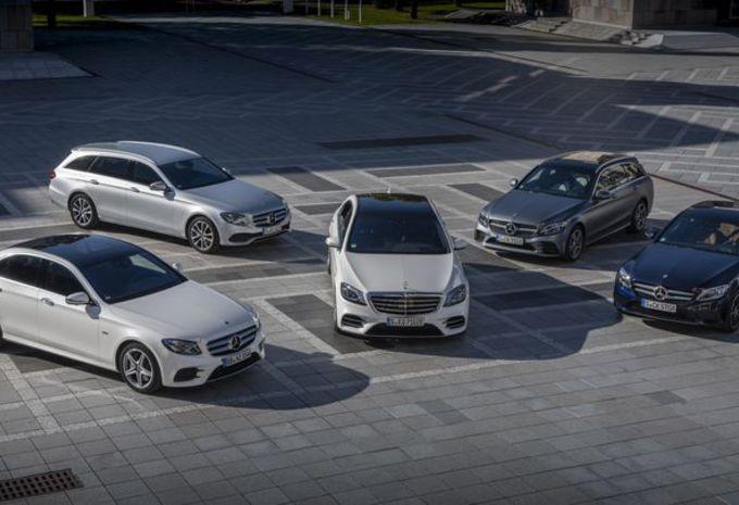 Mercedes C-, E- en S-Klasse EQ Power: gamma onder stroom #1