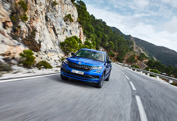 Skoda Kodiaq RS : L'ours sort ses griffes #1