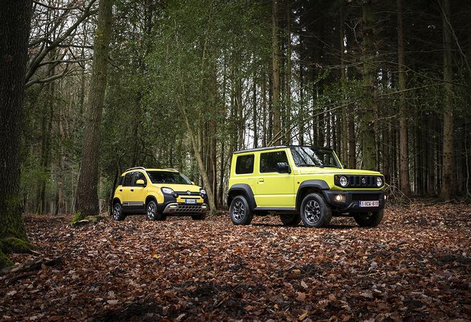Fiat Panda 4x4 vs Suzuki Jimny : Le renard et la belette #1
