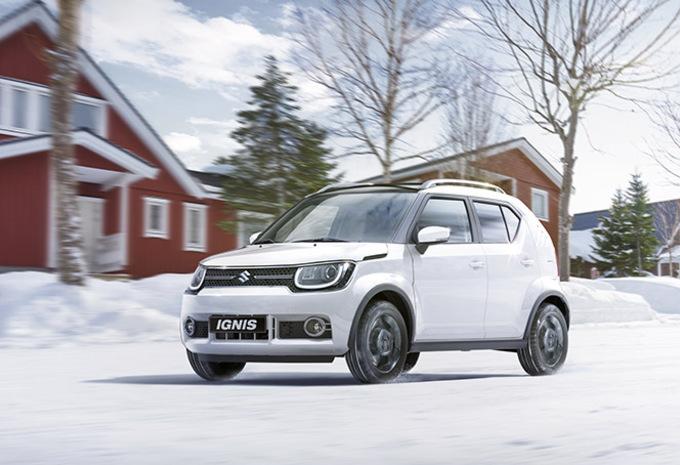 Suzuki Ignis AllGrip : Petite bagnole de neige #1