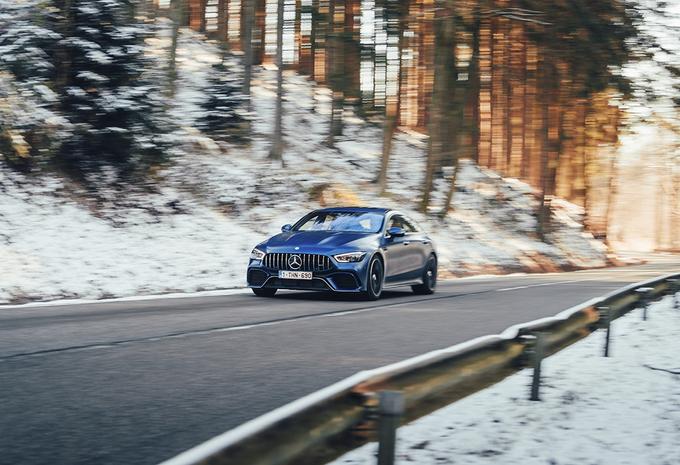 Mercedes-AMG GT 4 Portes : Le sport pour la famille #1