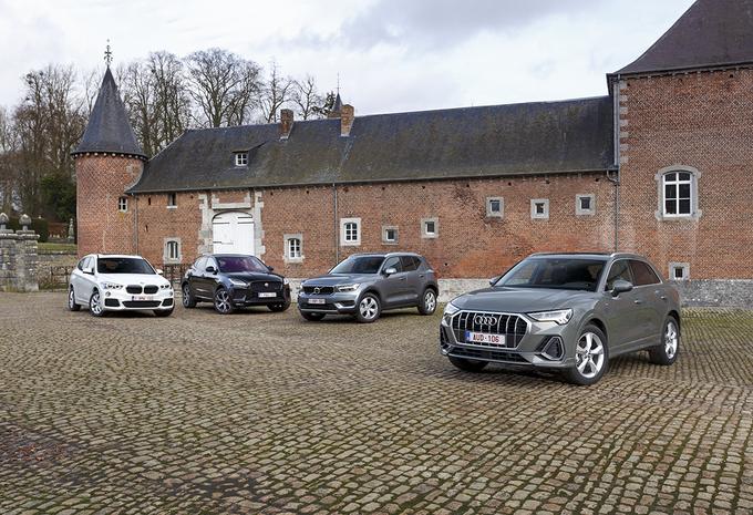 Audi Q3 contre 3 rivales #1