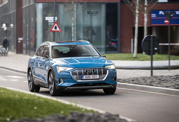 Audi e-Tron 55 Quattro : De elektrische SUV made in Belgium #1