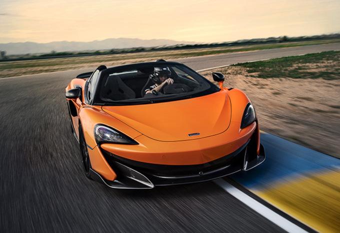 McLaren 600LT Spider : Scalpel sans scalp #1