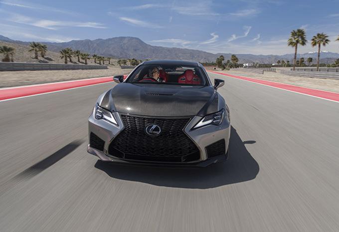 Lexus RC-F Track Edition : régime ninja #1