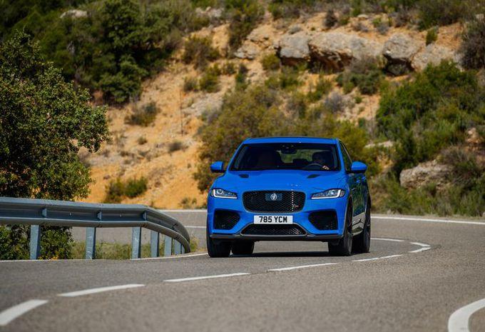 Jaguar F-Pace SVR : Délicieusement anachronique #1