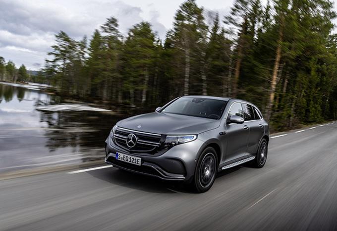 Mercedes EQC: Ster onder hoogspanning #1