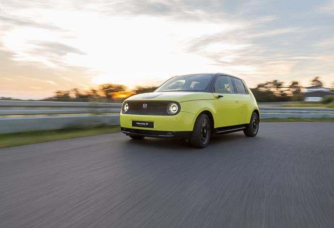 Honda e (2019) - prototypetest #1