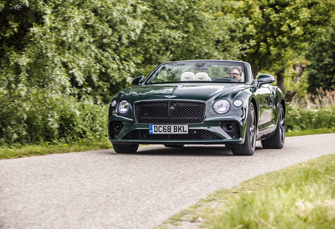 Bentley Continental GT Convertible : Openluchtsensaties #1
