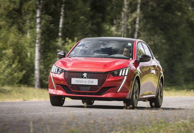 Essai prototype – Peugeot e-208 : batterie au plancher #1
