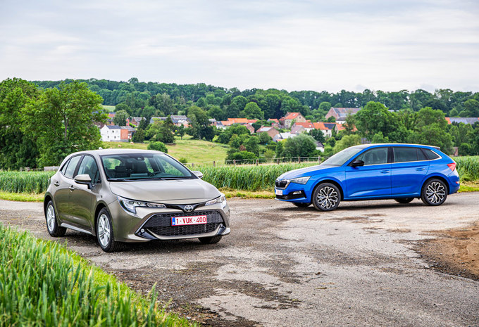 Skoda Scala 1.0 TSI vs Toyota Corolla 1.2 Turbo #1