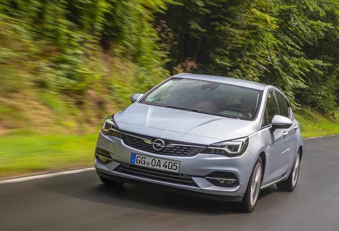 Opel Astra 1.4T CVT (2019) #1