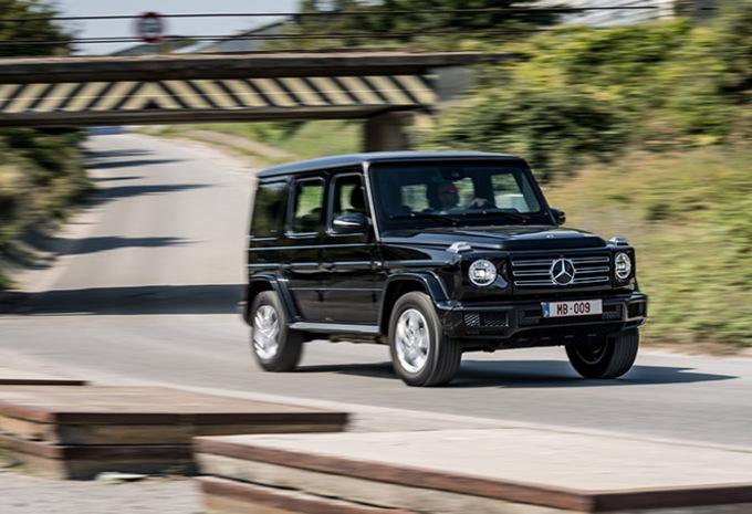 Mercedes G 350 d: Homogener en (iets) rationeler #1