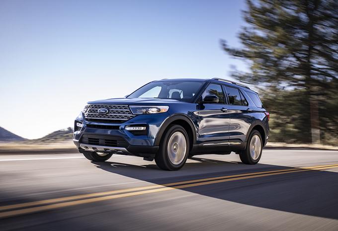 Ford Explorer : Viser haut #1